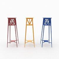 pot stool 3D