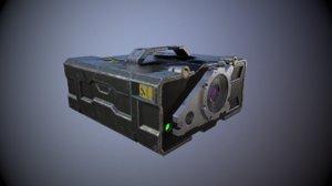 military range finder 3D model