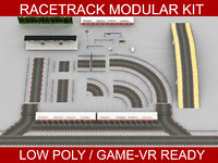 Race Track Modular Construction Kit
