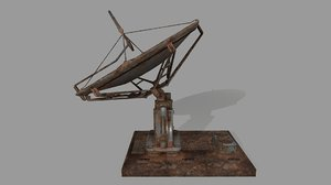 satellite stairs 3D model