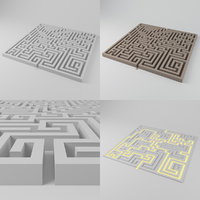 maze 1851 blocks model