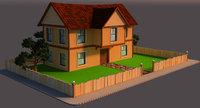 3D home scene