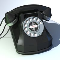 old phone 3D