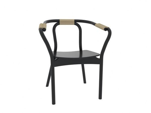 normann copenhagen knot chair 3D model