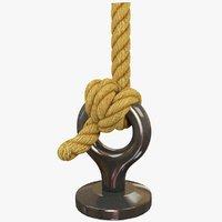 3D model knot ring