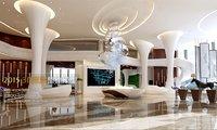 3D lobby hotel -