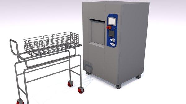 sercon 300 sterilizer steris 3D