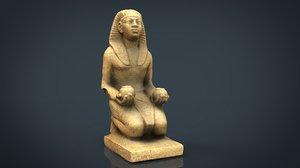 3D amenhotep ii