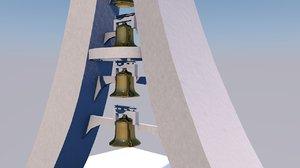 3D model campanile