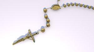 3D religious model