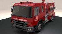 Brazilian fire truck