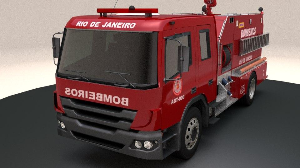 3D brazilian truck model