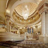 lobby luxury 3D model