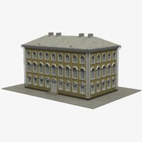 3D model 18 centry building