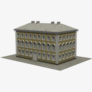 3D model 18 centry building