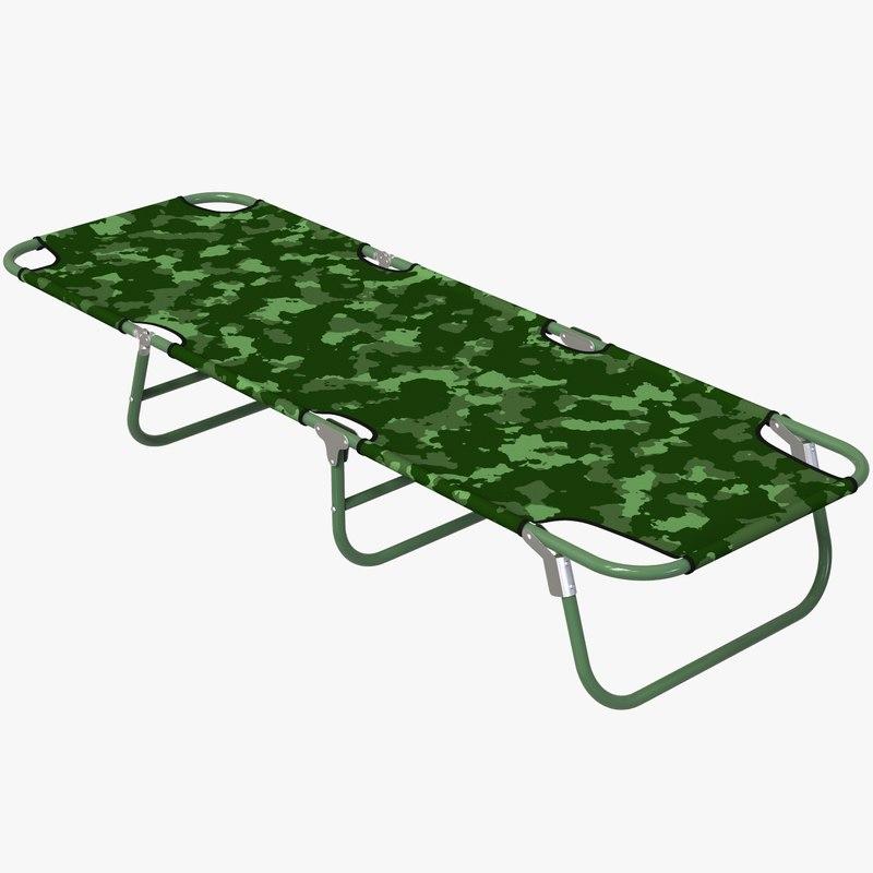 3D military stretcher