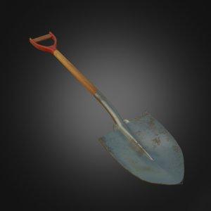3D shovel pbr