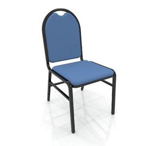 3D hotel congress chair