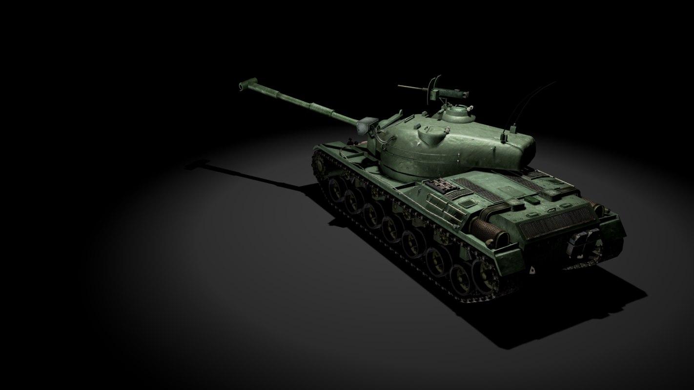 sta-1 tank 3D model