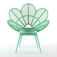 love chair mint 3D model