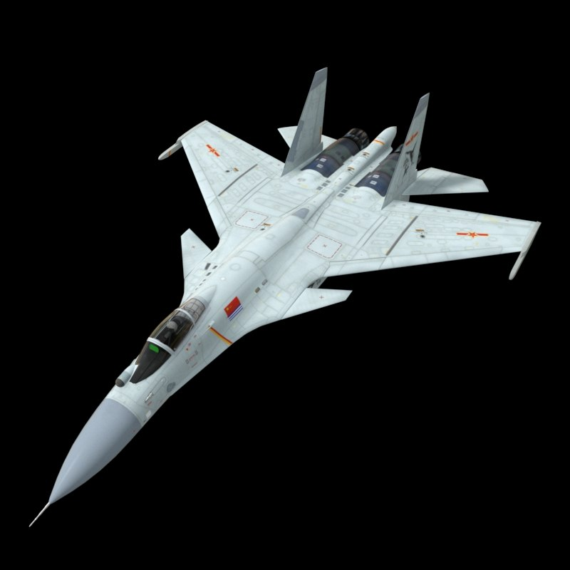 3D china navy j15 cockpit