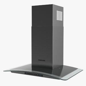 3D wall mount cooker hood