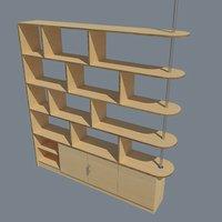 bookshelf - partition model