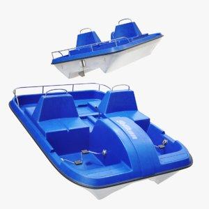 lightwave water bike 3D model