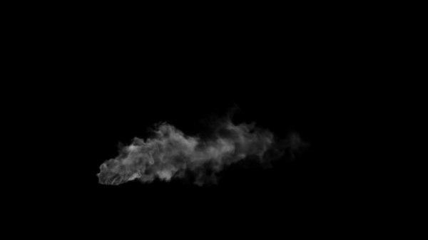 3D smoke chimney