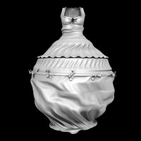 3D enema dress fetish latex