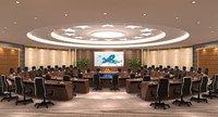 conference hall interior model