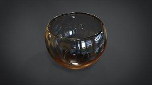 wineglass wine glass 3D model