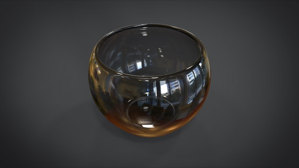 wineglass wine glass 3D model