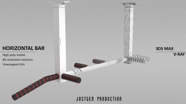 3D horizontal bar
