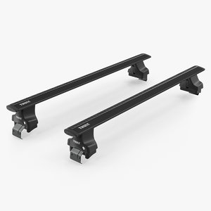 thule black wingbar model