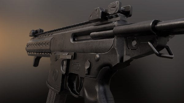 sig mpx 3D model