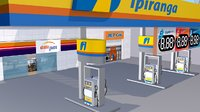 3D ipiranga gas station