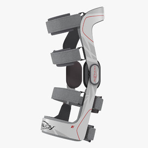 renegade knee brace 3D model