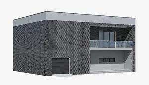 cottage 3D