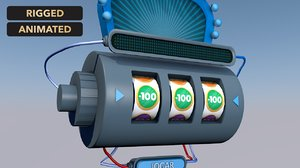 3D jackpot slot machine