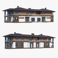 3D house building home