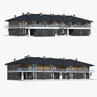house building home 3D model