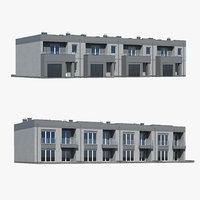 house building home 3D