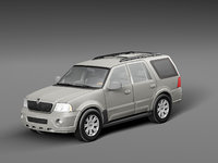 3D navigator 2004 car model
