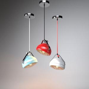 vintage lighting 3D model
