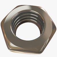 3D model nut industry tool