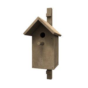 3D bird s house
