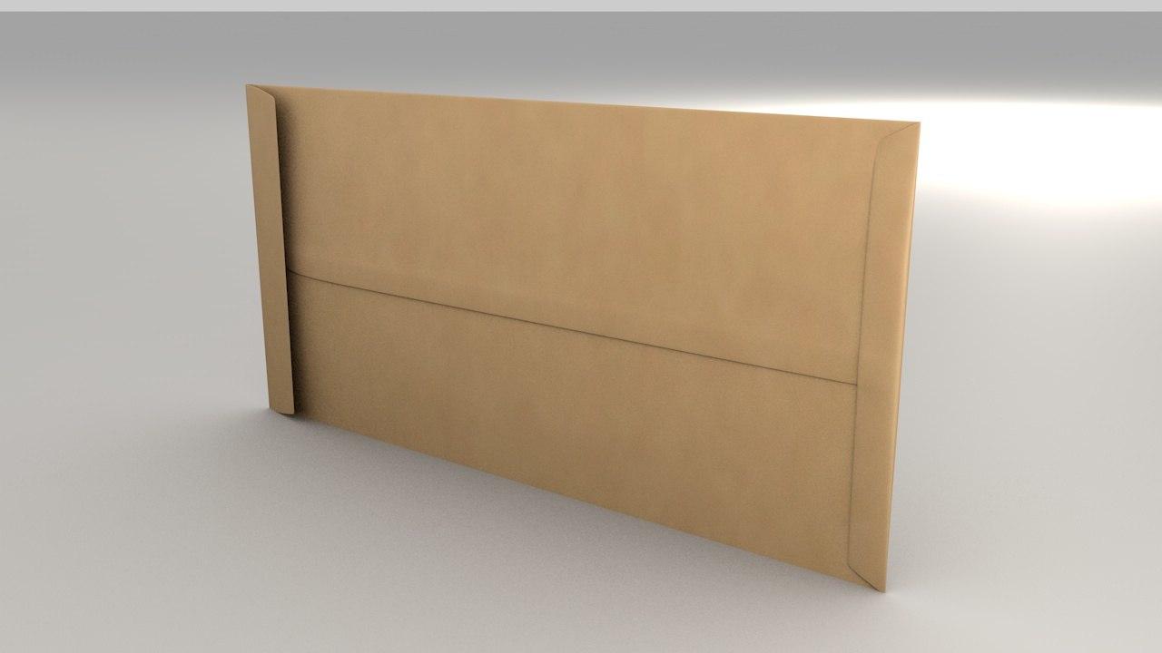 3D envelope size pocket model
