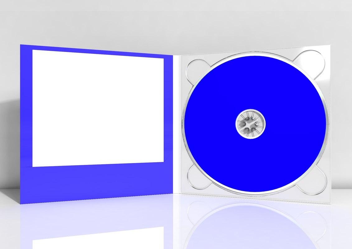 digipack mockups compact 3D model