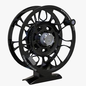 3D fly reel